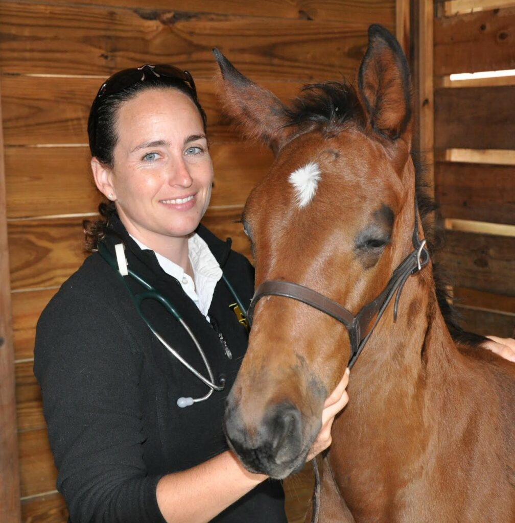 Dr. Jordan Lewis Palm Beach Equine Clinic Veterinarian