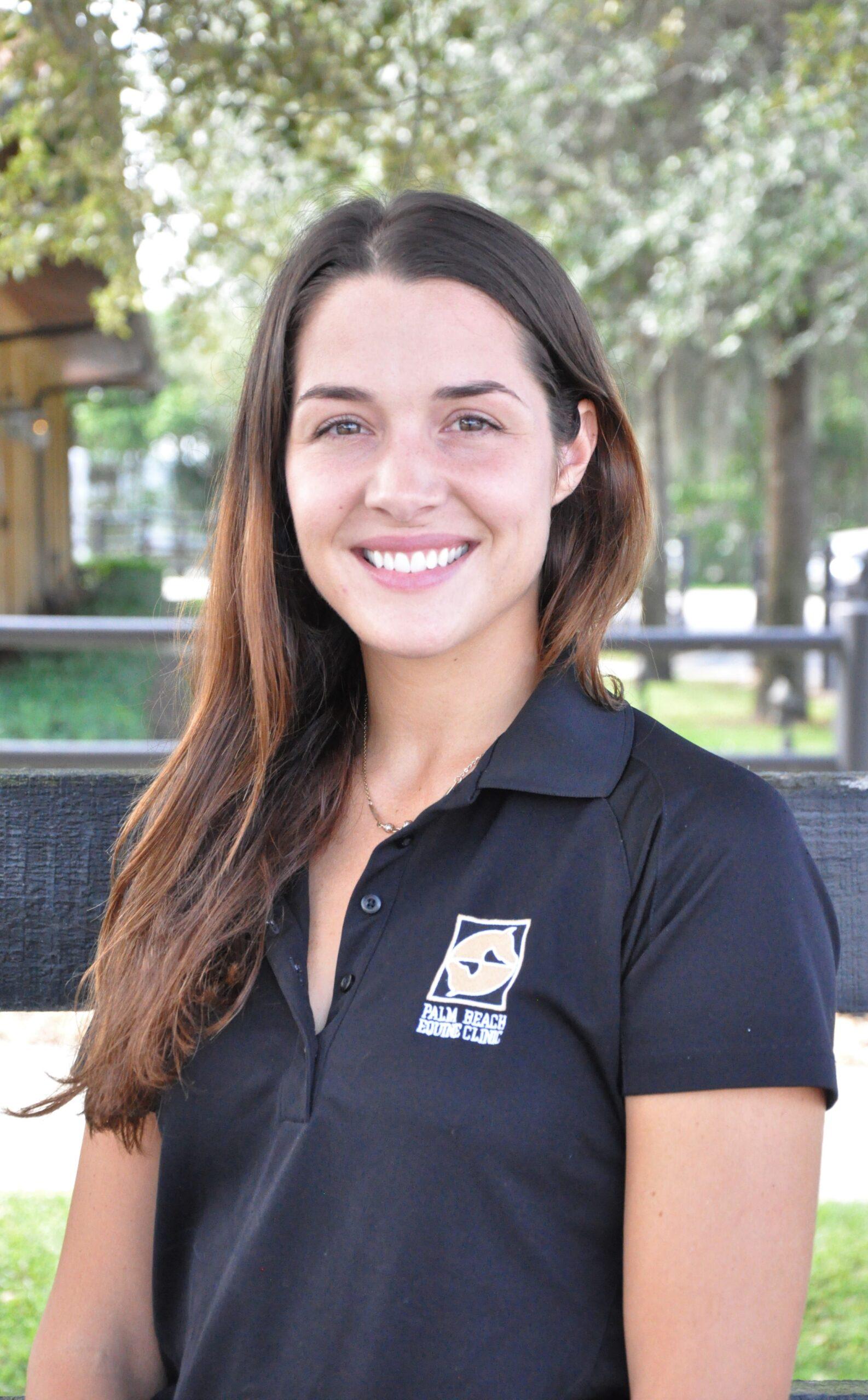 Palm Beach Equine Clinic Veterinarian Dr. Abby Berzas